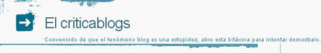 El criticablogs