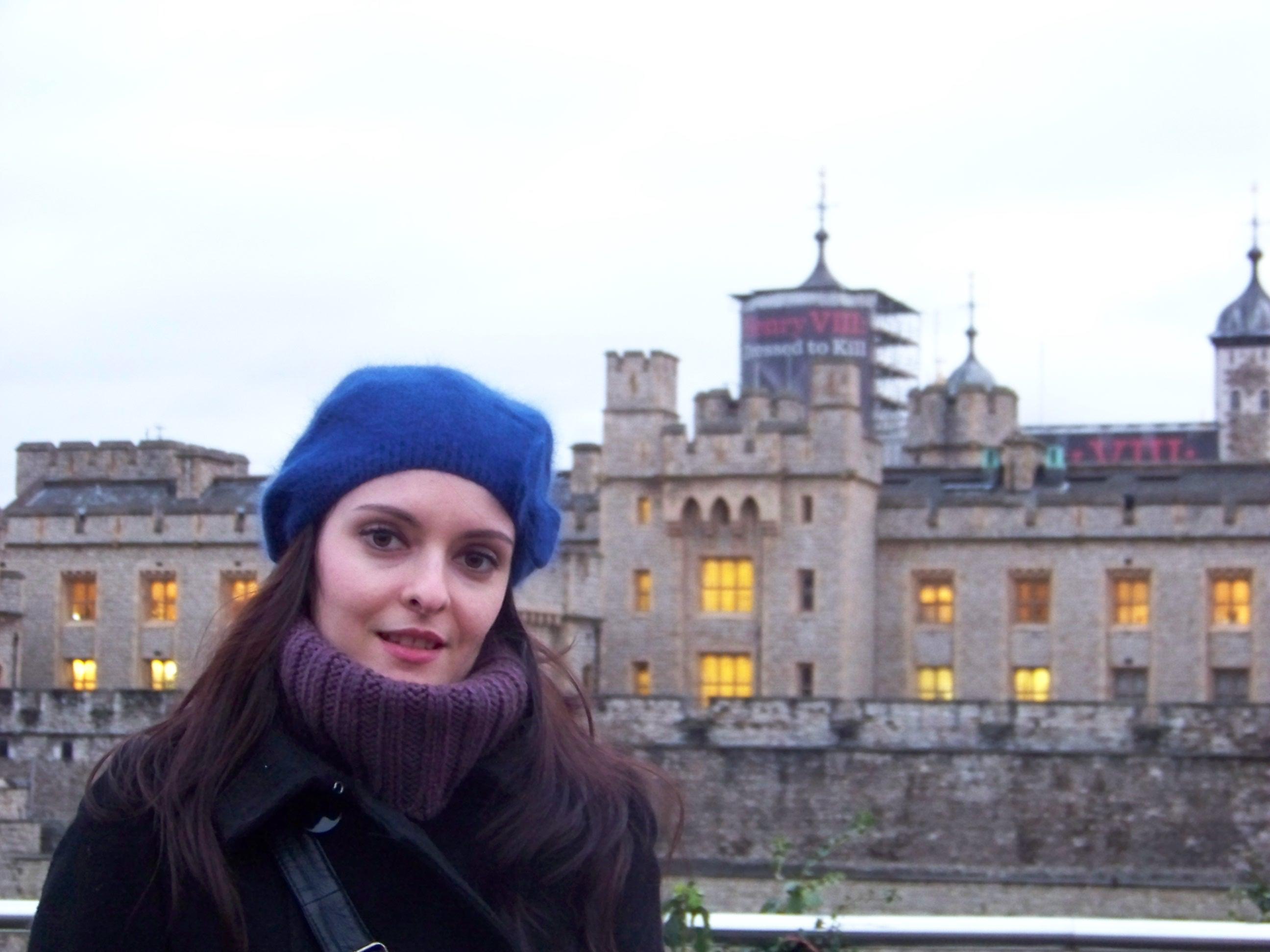 Verónica, autora del blog Britannia for you